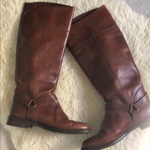 Cole Haan Valentino leather riding boot 11AA